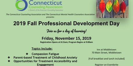 Connecticut Counseling Association Fall Professional Development Day - 2019 tickets
