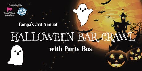 Tampa's Halloween Bar Crawl with Party Bus tickets