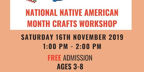 Native American Craft Workshop tickets