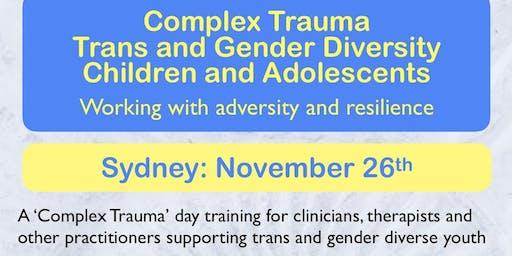 Complex Trauma: Transgender/Gender Diversity. Children and Adolescents
