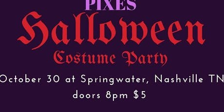 Halloween Tribute Night at Springwater! tickets