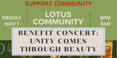 Benefit Concert: Unity Comes Through Beauty tickets