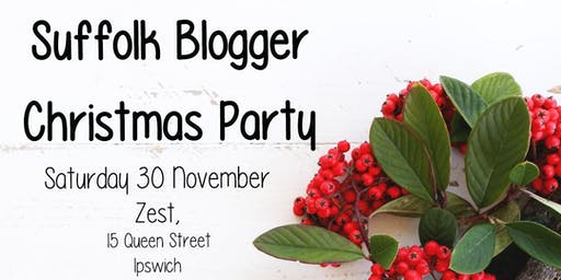 Suffolk Blogger Christmas Party