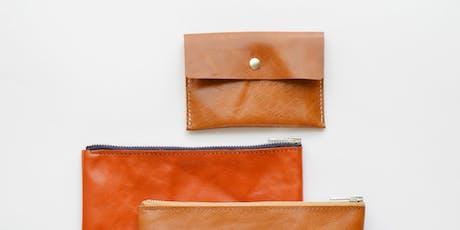 Leather Craft Workshop : Leather Card Holder - Festival of Natural Fibres tickets