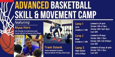 Advanced Basketball Skills Camp