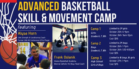 Advanced Basketball Skills Camp tickets