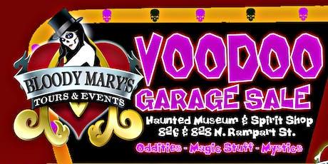 Voodoo Garage Sale  & Hoodoo Happening! tickets
