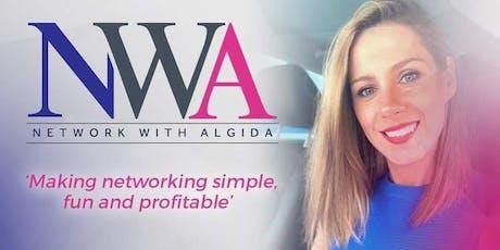 NETWORK WITH ALGIDA. tickets
