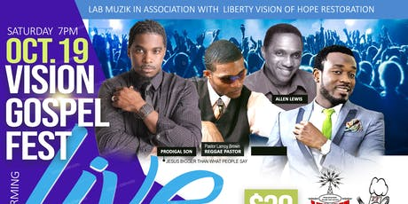 VISION GOSPEL FEST tickets