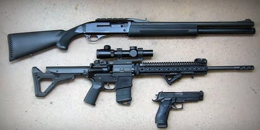SCSC Three Gun Event #3 - October 20, 2019