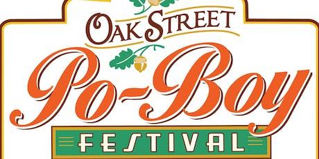 2019 Oak Street Po-boy Festival tickets