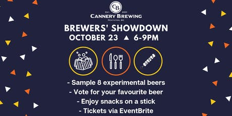 Brewers' Showdown at Cannery Brewing tickets