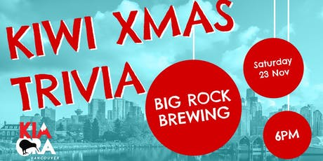 Kiwi Xmas Trivia tickets