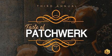 Patchwerk Presents: The 3rd Annual Taste Of Patchwerk tickets