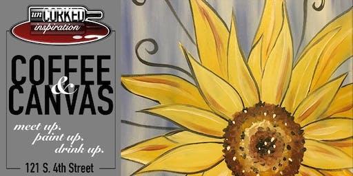 Coffee & Canvas | Sunflower