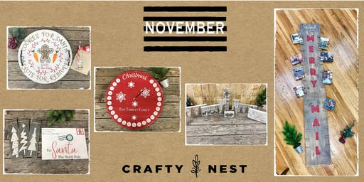 November 8th Public Workshop at The Crafty Nest  - Whitinsville