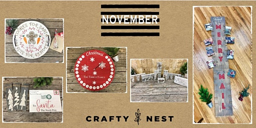 December 13th Public Workshop at The Crafty Nest  - Whitinsville