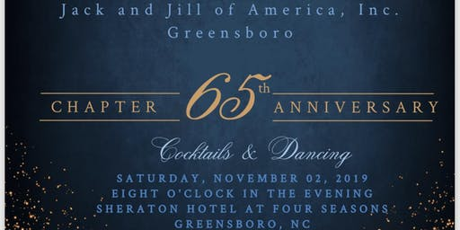 Come Sparkle & Shine at the Jack and Jill of America, Inc - Greensboro Chapter 65th Anniversary Sapphire Celebration