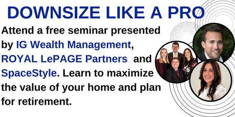 Downsize like a Pro - Seminar  tickets