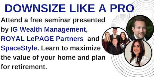 Downsize like a Pro - Seminar