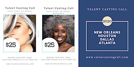WE NEED YOU!  Talent Casting Call for 2020 Advertising Campaigns - Over 50 tickets