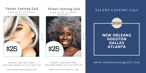 WE NEED YOU!  Talent Casting Call for 2020 Advertising Campaigns - Over 50