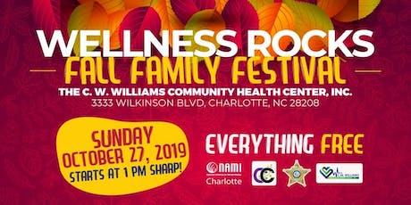 Wellness Rocks!!!! Fall Family Festival tickets
