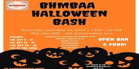 BHMBAA Halloween Bash tickets