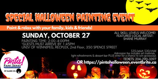 PINTA! Special Halloween Painting Event