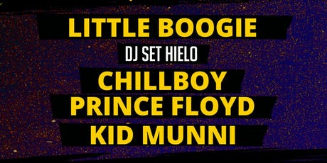 AntiPop 3era edición: Little Boogie, Chillboy (+) entradas