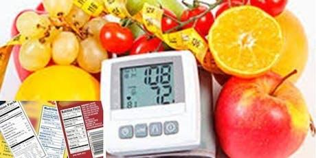 """Alimentación Consciente """"Rotulado y Alimentación para hipertensos"""" entradas"""