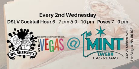 Dr. Sketchy's Las Vegas at The Mint Tavern tickets