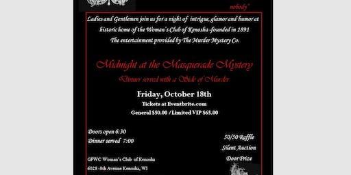 Midnight at the Masquerade Mystery Dinner