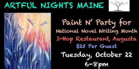 Paint N' Party for National Novel Writers Month tickets