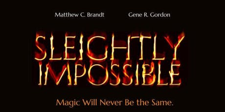 """""""Sleightly Impossible"""" Spooky Magic show tickets"""