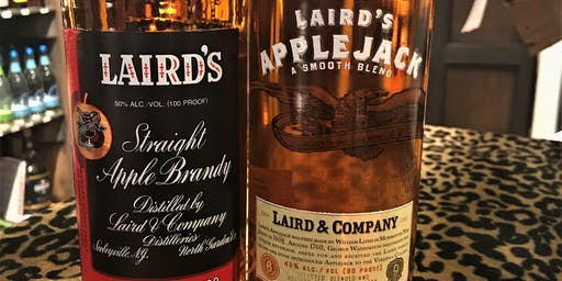 Laird's Apple Spirits Tasting