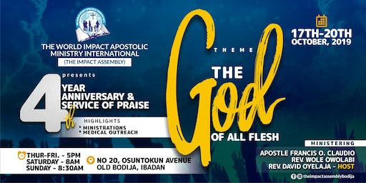 4th Anniversary & Service Of Praise