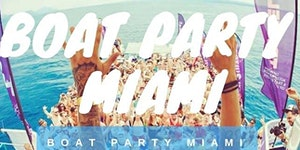Miami Boat Party- unlimited drinks