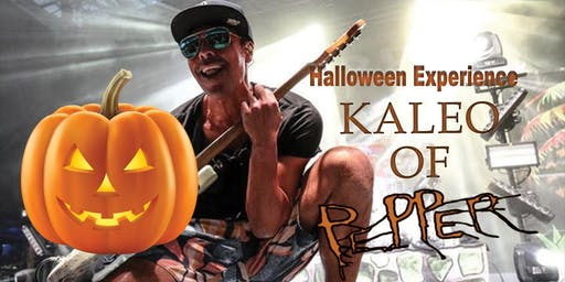 Halloween Experience with Kaleo from Pepper at Wine Boss