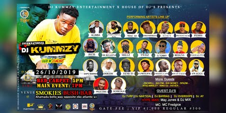 DJ KUMMZY LIVE IN CONCERT tickets