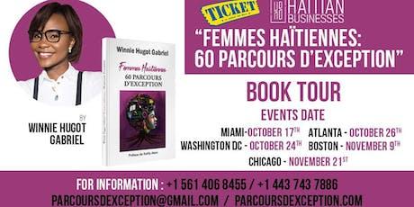 """""""Femmes Haïtiennes 60 parcours d'exception """" Book Tour  - MIAMI billets"""