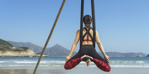 Beach Aerial Yoga Workshop - beginners (November/December)