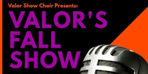 Valor Show Choir Fall Showcase