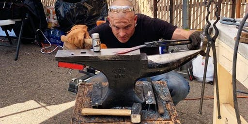 """Knife Making Class with """"Forged in Fire"""" Champion Jason Anderson"""