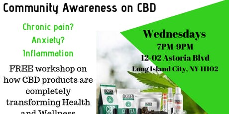 CBD INFO WORKSHOP tickets