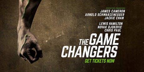 """GAME CHANGERS"" (Movie Night + dinner) tickets"