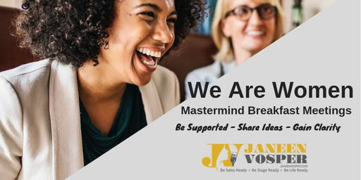 Mastermind Group For Women Entrepreneurs - Breakfast in Brisbane/Logan/Gold Coast