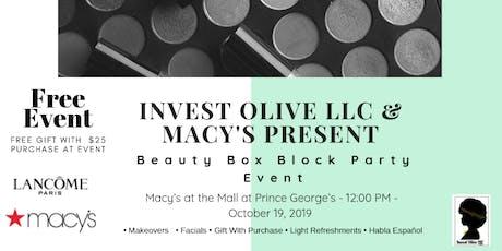 Beauty Box Block Party tickets