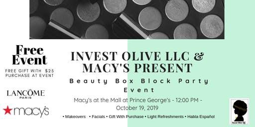 Beauty Box Block Party
