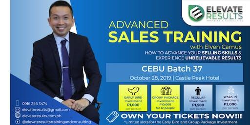 Advanced Sales Training - CEBU Batch 37